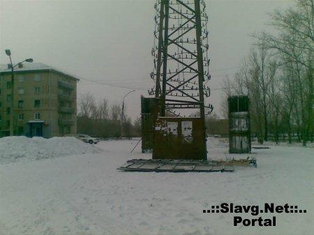 Строительство снежного городка