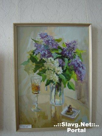 Выставка живописи Е. Демкиной