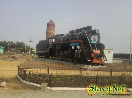 На вокзале появился новый памятник
