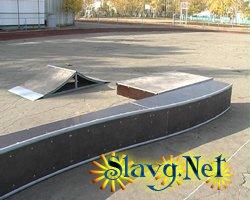 Скейтпарк в Славгороде - тоже реальность!