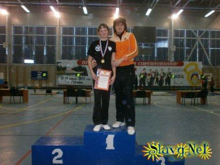 Наша землячка - чемпионка России по гиревому спорту