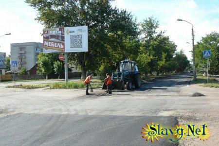 Ремонт дорог в Славгороде капитальный и не очень