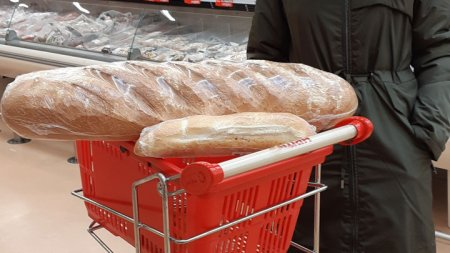 В алтайских магазинах появились батоны весом в 2 килограмма